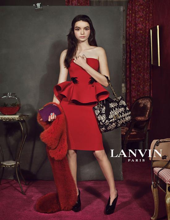 Lanvin+Fall+2012+Ad+Campaign+3 Peps peplum