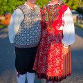 """Brigid ja Isaac, XIX tantsupeo """"Puudutus"""" 1. etendus, Tallinn"""