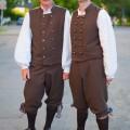 """Nils ja Vahur, XIX tantsupeo """"Puudutus"""" 1. etendus, Tallinn"""