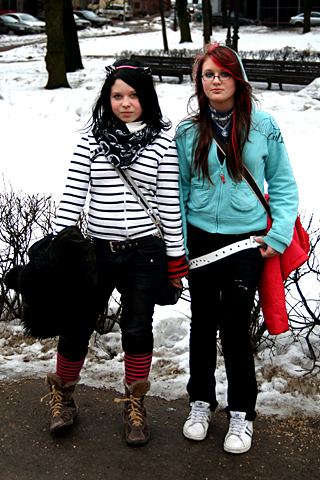aaSarahKatrin Sarah ja Kätrin, Tartu kesklinn