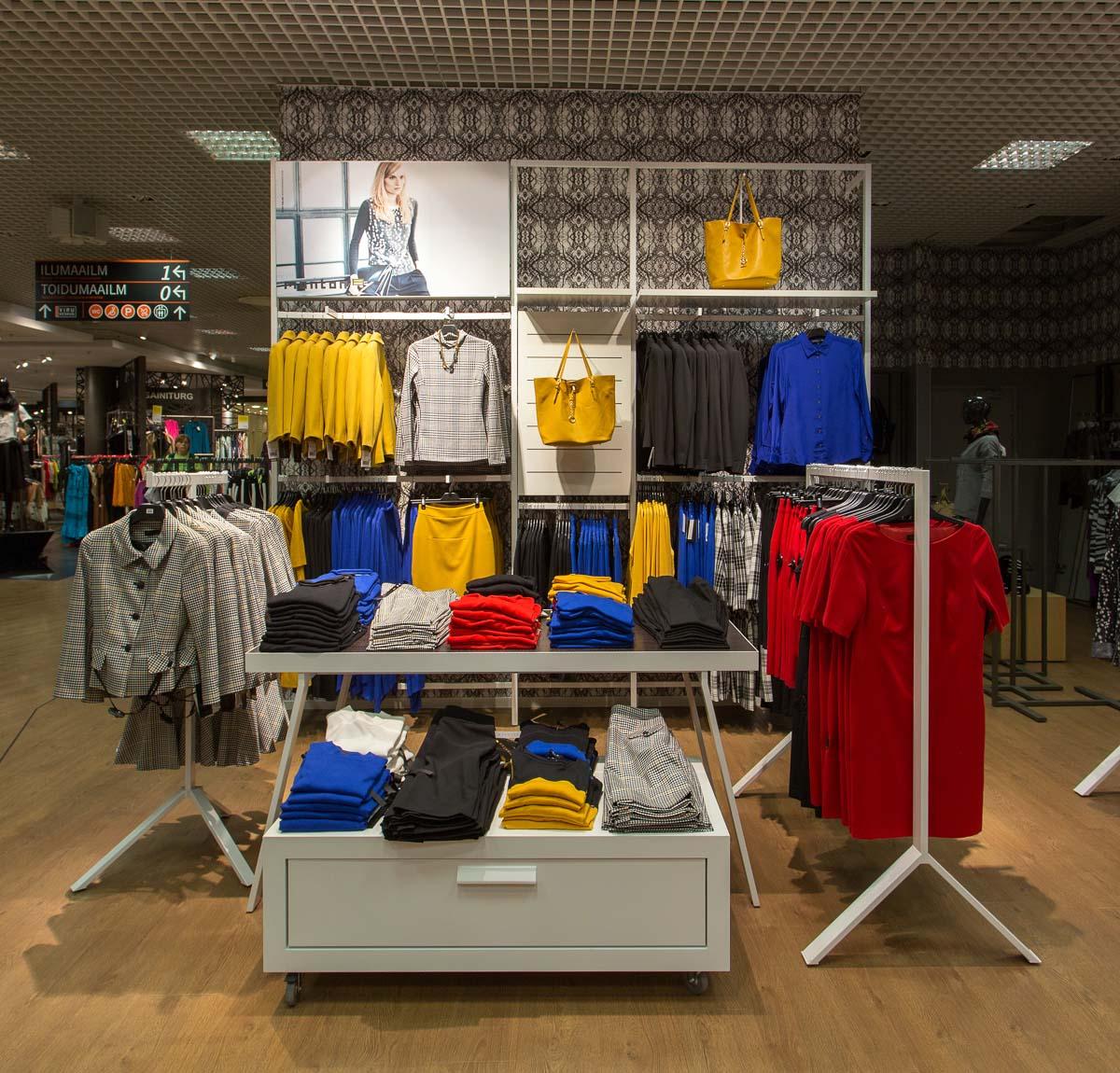 Monton shopinshop Kaubamaja S2 Monton avas uue poelahenduse
