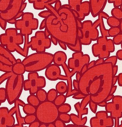 punane Eesti disain. Tööstustekstiil.