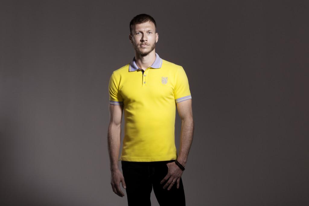 Ragnar Klavan wearing Amanjeda Sport Couture 1024x682 Katrin Kuldma esitleb uut vabaajarõivaste kollektsiooni
