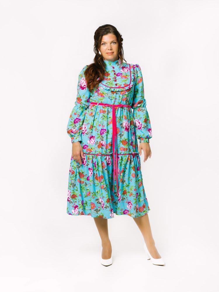 TORINA Preeriakleit Midi Turquoise Ühe pere nelja generatsiooni naised lõid rõivabrändi