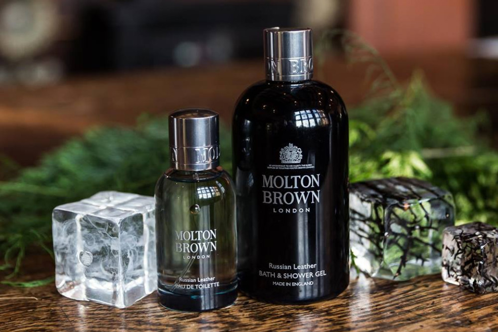 Molton Brown laevakauplustes Russian Leatheri sari Tallink täiendab luksusbrändide valikut