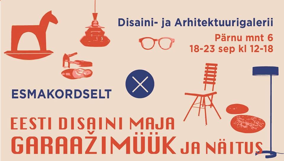 garaazimüük Eesti disaini garaažimüük
