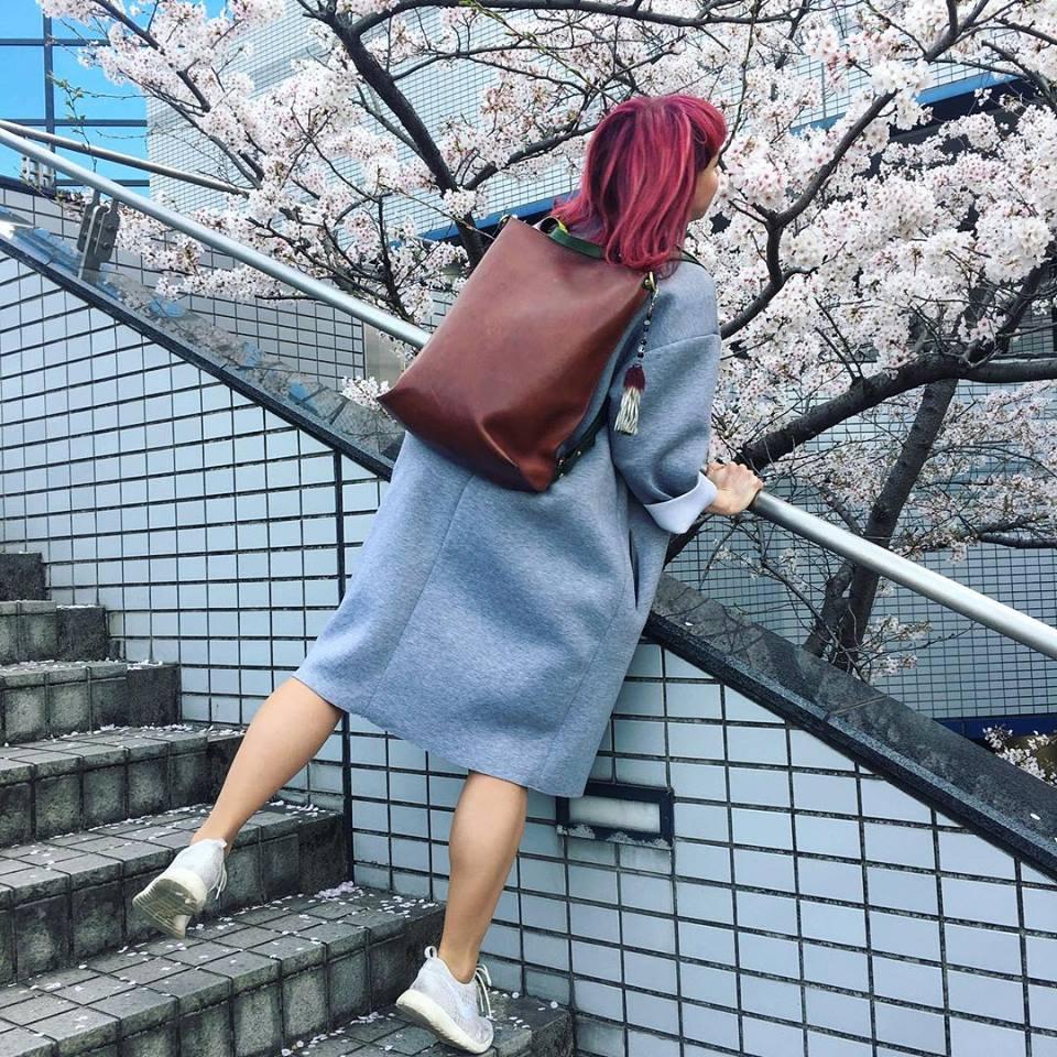 Stella Soomlais Go To The Library bag jaapani kevad Kuus Eesti disainerit tutvustavad oma loomingut Jaapanis