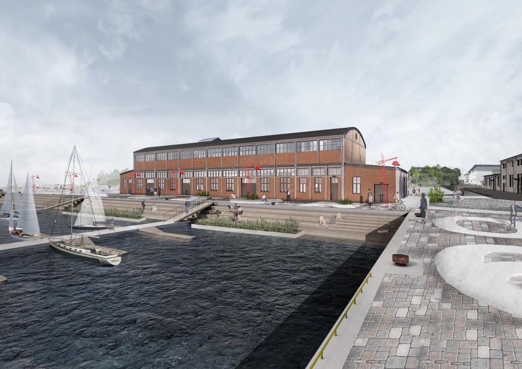 kaikunstikeskus 1024x724 Noblessneri sadamalinnakus avatakse uus kunstikeskus