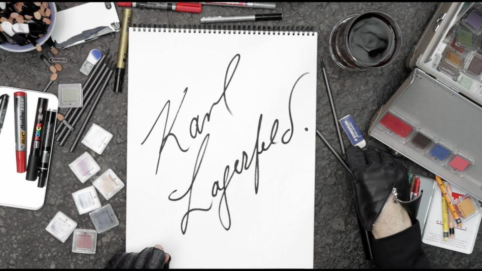 Dokumentaal Lagerfeld joonistab oma elu