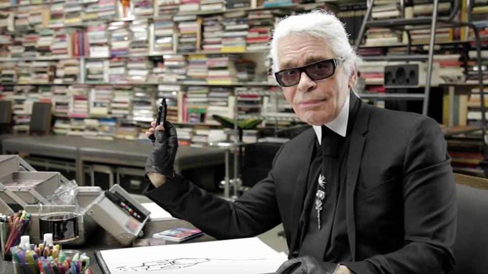 lagerfeld Lagerfeld joonistab oma elu
