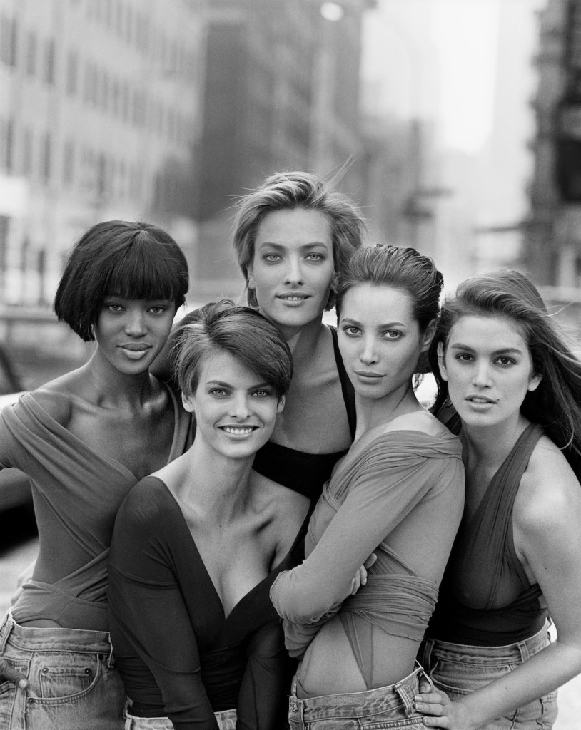 Peter Lindbergh Women Stories. SUPERMODELS ©Peter Lindbergh 814x1024 Moemaailma legendid kinolinal