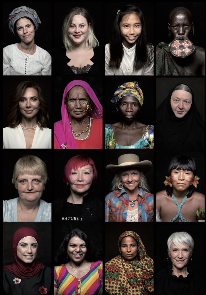 Naine  718x1024 Dokfilm, mis annab hääle 2000 naisele üle maailma