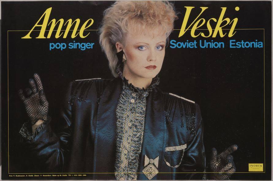 anne  Eesti naine popmuusikas
